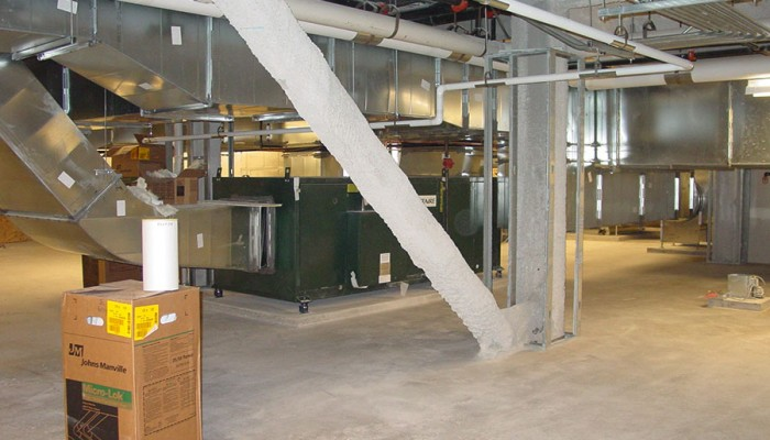 Make Up Air Units and Associated Ductwork